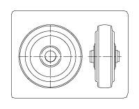 台車の車輪の選択について